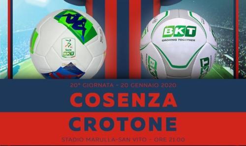 Ponturi Cosenza-Crotone fotbal 20-ianuarie-2020 Serie B