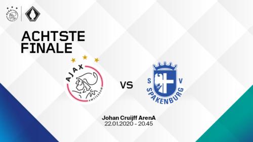 Ponturi Ajax - Spakenburg fotbal 22-ianuarie-2020 Cupa Olandei