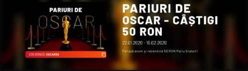 Castigi 50 RON la Maxbet daca pariezi pe Festivitatea de Decernare a Premiilor Oscar!