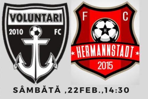 Ponturi Voluntari vs Hermannstadt fotbal 22 februarie 2020 Liga 1