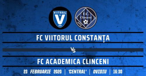 Ponturi Viitorul vs Academica Clinceni fotbal 23 februarie 2020 Liga 1