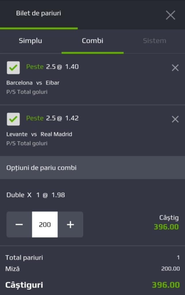 Biletul zilei fotbal ERC – Sambata 22 Februarie 2020 – Cota 1.98 – Castig potential 396 RON