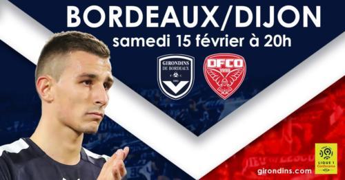 Ponturi Bordeaux-Dijon fotbal 15-februarie-2020 Ligue 1