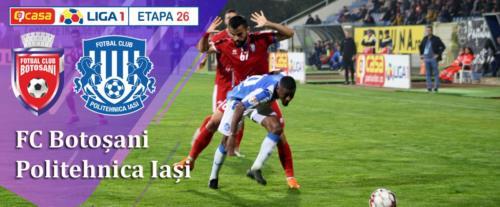 Ponturi FC Botosani - Poli Iasi fotbal 24-februarie-2020 Liga 1