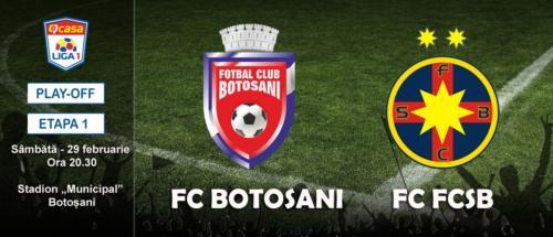 Ponturi FC Botosani-FCSB fotbal 29-februarie-2020 Liga 1