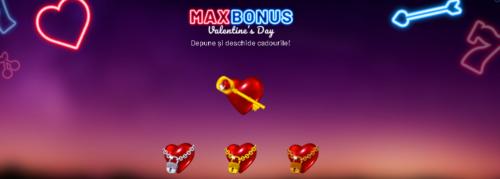 Sarbatoreste Valentine\'s Day impreuna cu Maxbet!