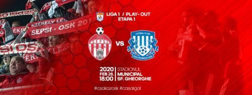 Ponturi Sepsi-Poli Iasi fotbal 28-februarie-2020 Liga 1
