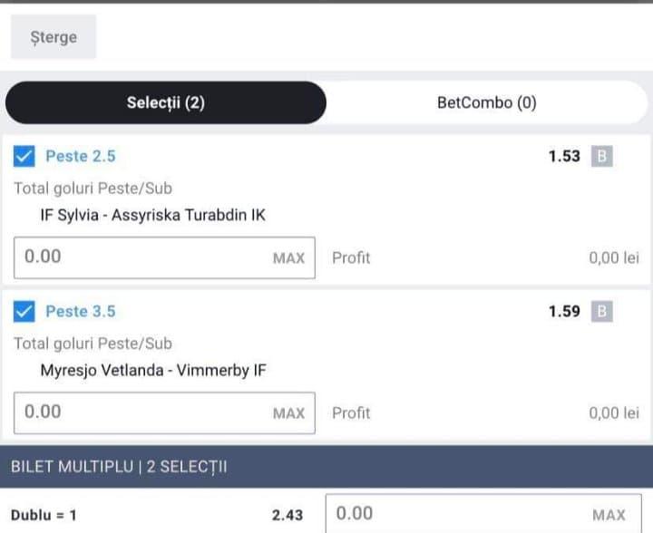 Biletul zilei fotbal ERC – Duminica 29 Martie 2020 – Cota 2.43 – Castig potential 729 RON