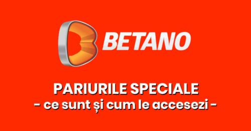 Pariurile Speciale la Betano – Ce sunt si cum le accesezi