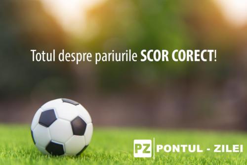 Scor corect – Tipuri de pariuri, Exemple, Strategii