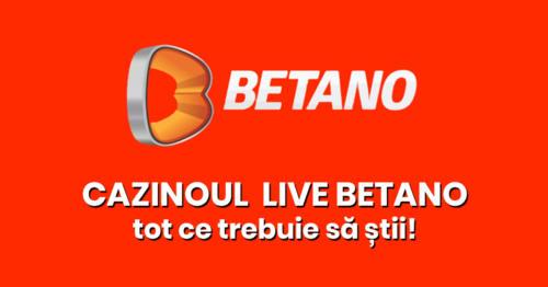 Cazinoul LIVE Betano – Dealeri romani + ce te poti juca!