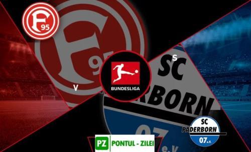 Ponturi Fortuna Dusseldorf vs Paderborn fotbal 13 martie 2020 Bundesliga