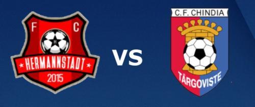 Ponturi Hermannstadt vs Chindia Targoviste fotbal 2 martie 2020 Liga 1