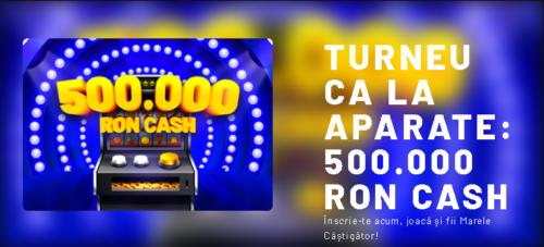 Turneu ca la aparate - premii in valoare de 500.000 RON de la Maxbet!