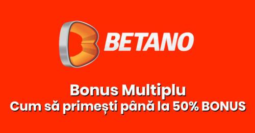 Bonus Multiplu – Cum sa primesti pana la 50% Bonus pe bilet