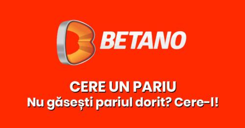 Nu gasesti pariul dorit? Cere-l celor de la BETANO!