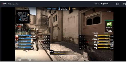 esports Counter-Strike: Global Offensive