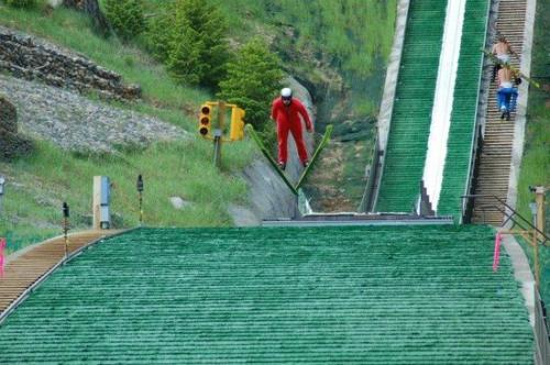 ski iarba vara