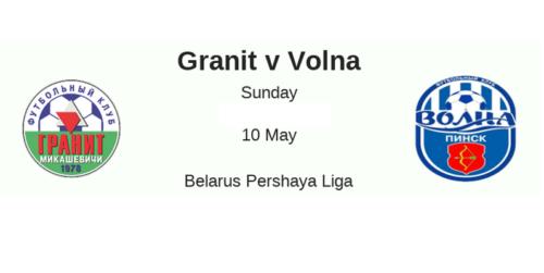 Ponturi Granit vs Volna fotbal 10 mai 2020 Divizia I