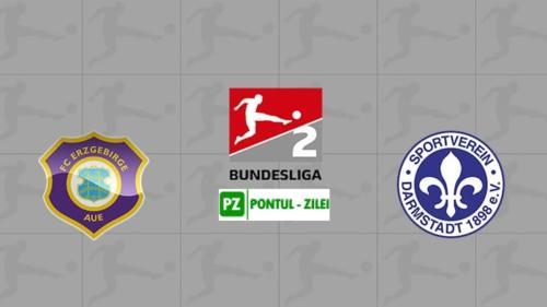 Ponturi Erzgebirge Aue vs Darmstadt fotbal 26 mai 2020 2.Bundesliga