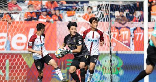 Ponturi Sangju - Gangwon fotbal 16-mai-2020 Coreea de Sud K-League