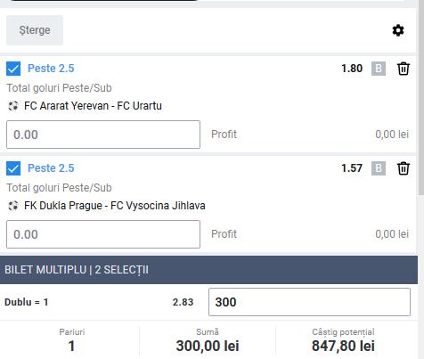 Biletul zilei fotbal ERC – Luni 25 Mai 2020 – Cota 2.83 – Castig potential 847 RON