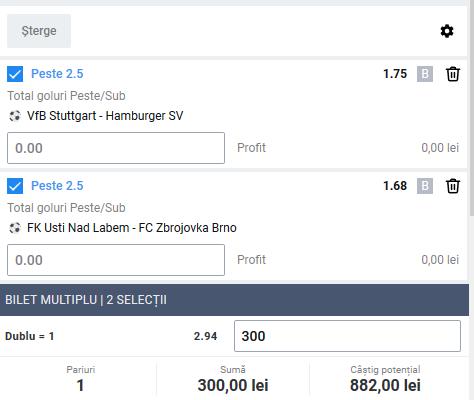 Biletul zilei fotbal ERC – Joi 28 Mai 2020 – Cota 2.94 – Castig potential 882 RON