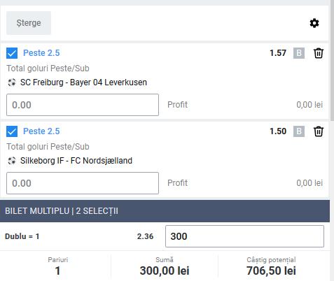 Biletul zilei fotbal ERC – Vineri 29 Mai 2020 – Cota 2.36 – Castig potential 706 RON