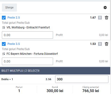 Biletul zilei fotbal ERC – Sambata 30 Mai 2020 – Cota 2.56 – Castig potential 766 RON