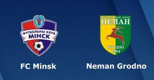 Ponturi FC Minsk vs Neman Grodno fotbal 15 mai 2020 Liga I
