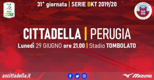 Ponturi Cittadella-Perugia fotbal 29-iunie-2020 Serie B