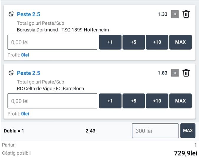 Biletul zilei fotbal ERC – Sambata 27 Iunie 2020 – Cota 2.43 – Castig potential 729 RON