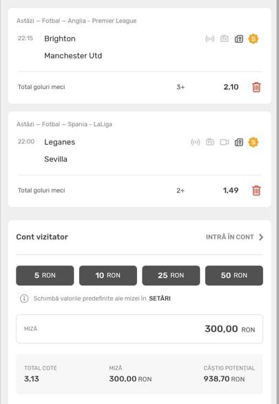Biletul zilei fotbal ERC – Marti 30 Iunie 2020 – Cota 3.13 – Castig potential 938 RON