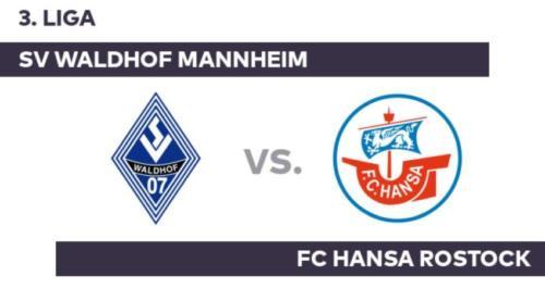 Ponturi Hansa Rostock vs Waldhof Mannheim fotbal 2 iunie 2020 3.Liga
