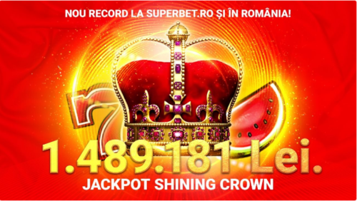 Cel mai mare JACKPOT ONLINE a fost castigat la SUPERBET!