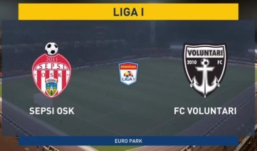 Ponturi Sepsi Sf. Gheorghe vs FC Voluntari fotbal 16 iunie 2020 Liga I