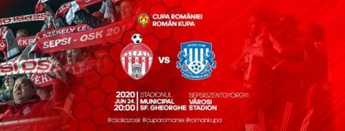Ponturi Sepsi-Poli Iasi fotbal 24-iunie-2020 Cupa Romaniei