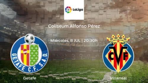 Ponturi Getafe - Villarreal fotbal 08-iulie-2020 Primera Division
