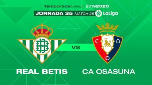 Ponturi Betis-Osasuna fotbal 8-iulie-2020 La Liga