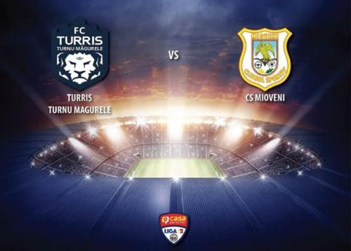 Ponturi Turris Turnu Magurele-Mioveni fotbal 28-iulie-2020 Liga 2