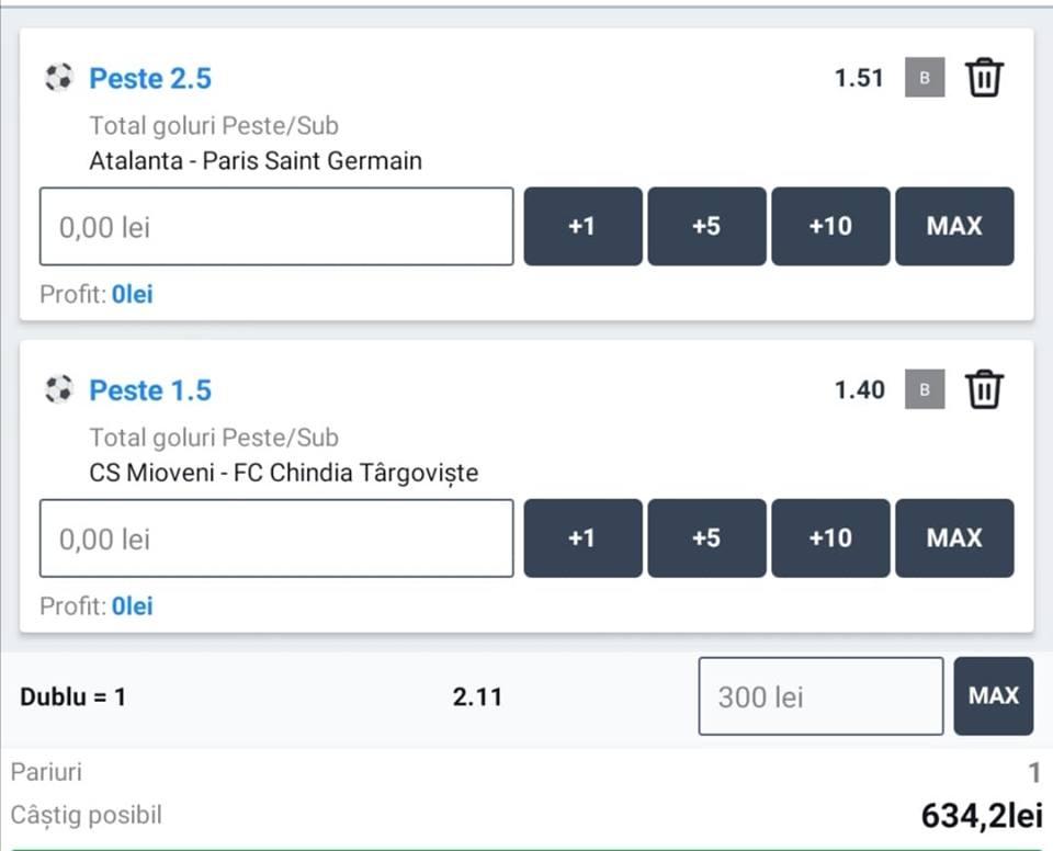 Biletul zilei fotbal ERC – Miercuri 12 August 2020 – Cota 2.11 – Castig potential 634 RON