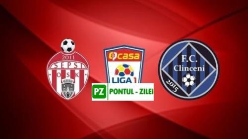 Ponturi Sepsi Sf. Gheorghe vs Academica Clinceni fotbal 5 august 2020 Liga 1