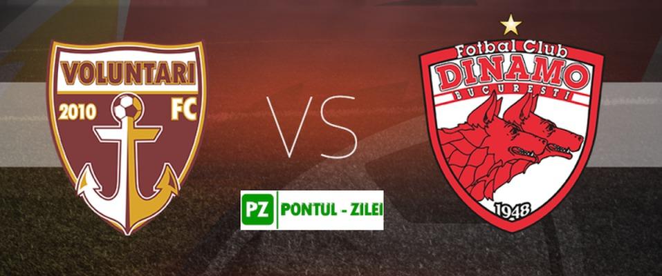 Liga I: FC Voluntari - Dinamo București 1-2  |Dinamo București-voluntari