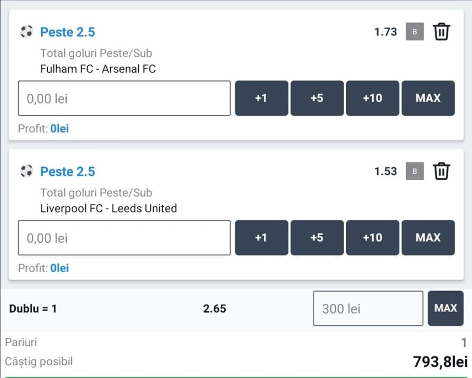 Biletul zilei fotbal ERC – Sambata 12 Septembrie – Cota 2.65 – Castig potential 793 RON