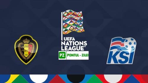 Ponturi Belgia vs Islanda fotbal 8 septembrie 2020 Liga Natiunilor