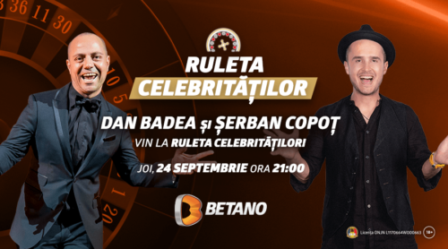 Betano i-a provocat pe Dan Badea și Șerban Copoț la Ruletă!