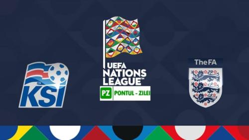 Ponturi Islanda vs Anglia fotbal 5 septembrie 2020 Liga Natiunilor