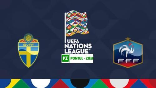 Ponturi Suedia vs Franta fotbal 5 septembrie 2020 Liga Natiunilor