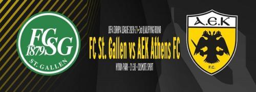 Ponturi St Gallen-AEK 24-septembrie-2020 Europa League