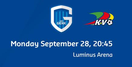 Ponturi Genk-Oostende 28-septembrie-2020 Jupiler league